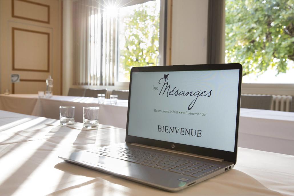 L'Hôtel Restaurant des Mésanges vous propose des offresBusiness et d'organiser vos événements professionnels