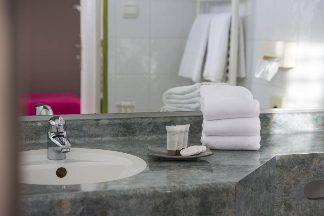 Chambre Supérieur - Espace salle de bain