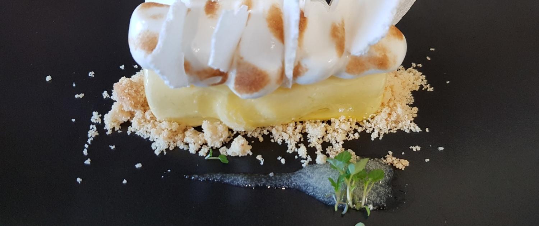 Restaurant - Dessert - La tarte au citron revisitée