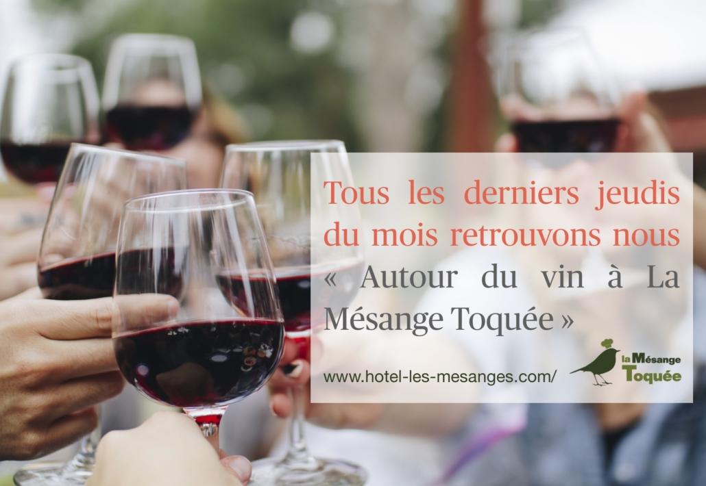 Evenement Autour du vin à La Mésange Toquée
